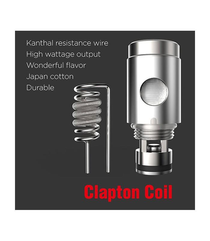 Ανταλλακτικές Κεφαλές Clapton 0.5ohm