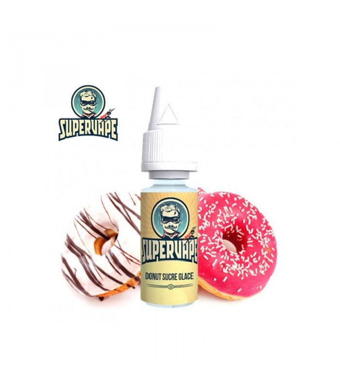 SuperVape - Donut Sucre Glace 10ml