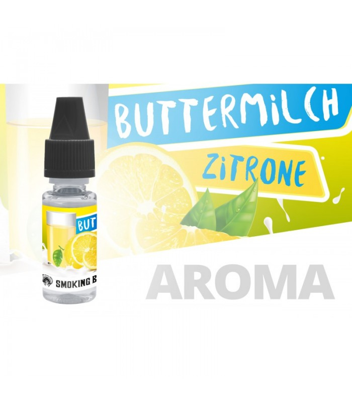 Smoking Bull Buttermilk Lemon 10ml