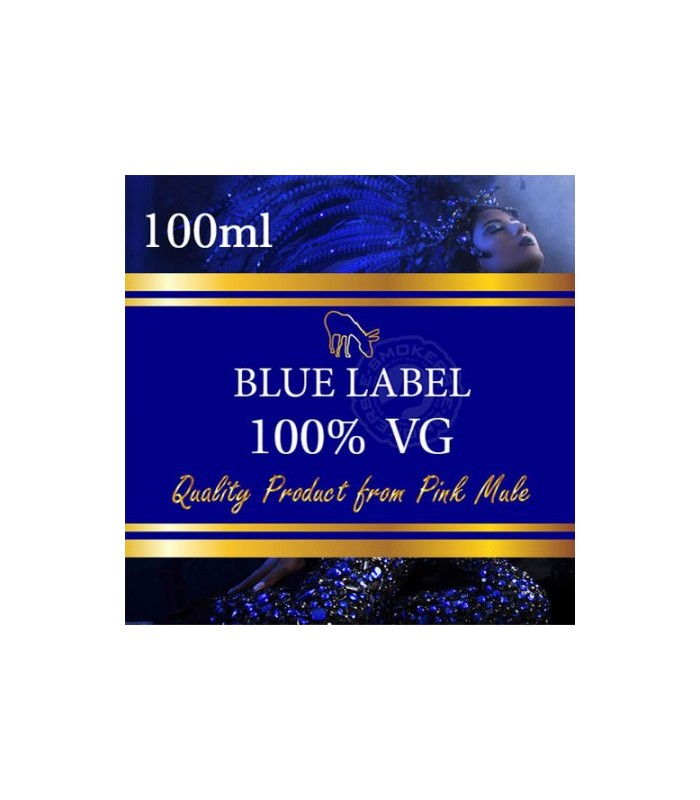 Pink Mule Blue Label 100ml (100% VG) 0mg