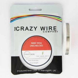 Crazy Wire Ni80 10meters