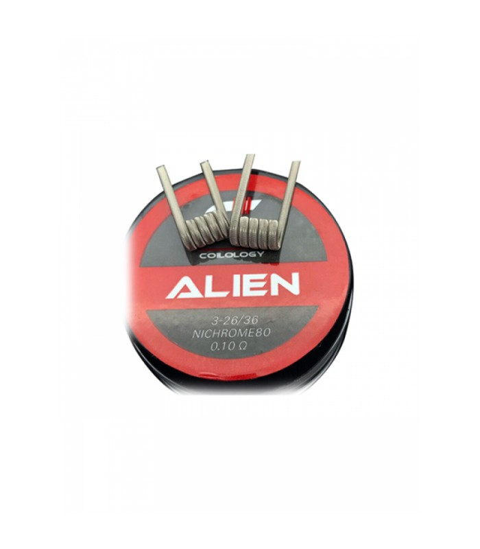 Coilology Handcrafted Prebuilt Coil Alien Ni80 2.5mm