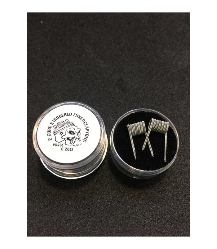 2 core Staggered Fused Claptons 0.28