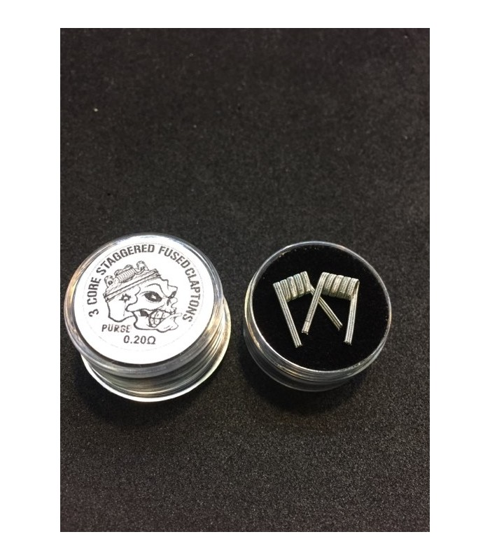 3 CORE STAGGERED FUSED CLAPTONS 0.20