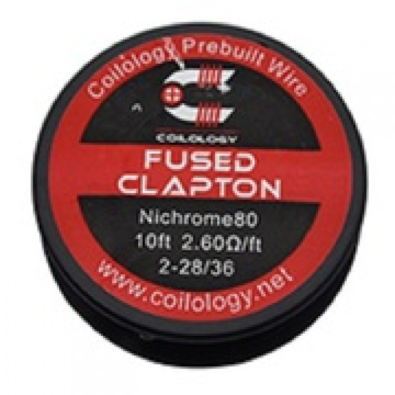 Coilology Fused Clapton Ni80 συρμα